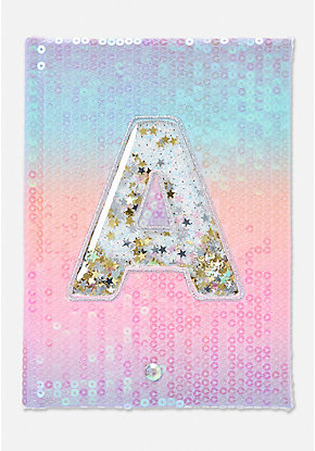 Shaky Initial Light Up Journal