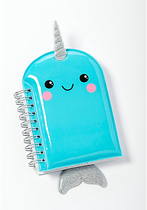 Narwhal Color Changing Mini Journal