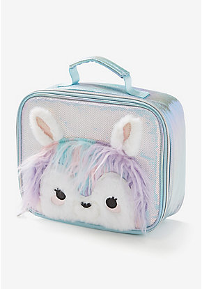 Pastel Llama Lunch Tote