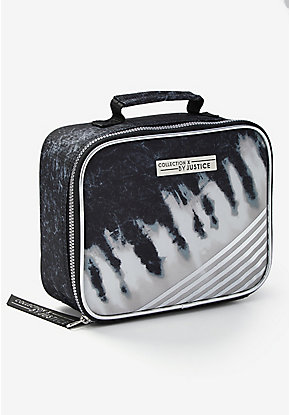 Tie Dye Stripe Lunch Tote