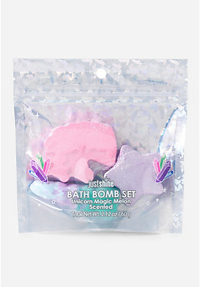 Just Shine Unicorn Mini Bath Bomb Set