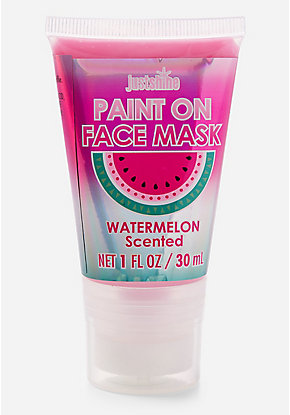 Just Shine Watermelon Paint On Face Mask