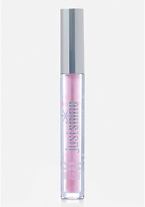Just Shine Holographic Peach Lip Gloss