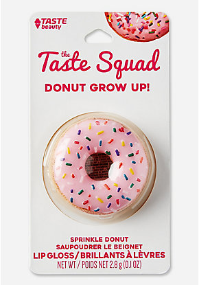 The Taste Squad Donut Grow Up Lip Gloss