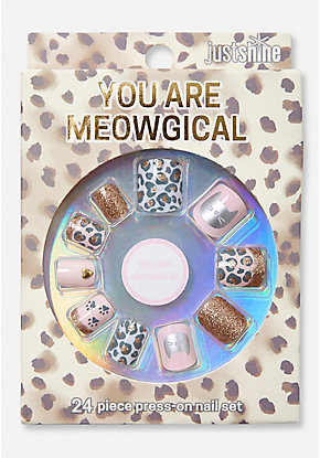 Just Shine You Are Meowgical Press On Nails