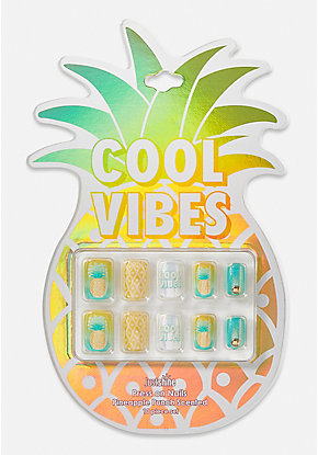 Just Shine Cool Vibes Scented Press On Nails