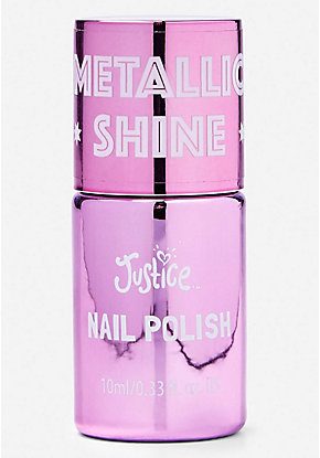 Pink Metallic Shine Nail Polish