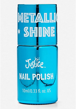 Blue Metallic Shine Nail Polish
