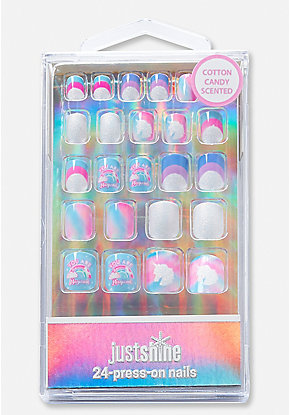 Just Shine You Are Magical Unicorn Press On Nails