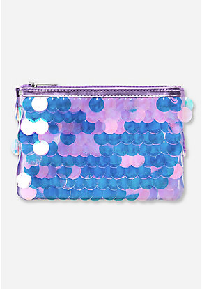 Jumbo Sequin Cosmetic Bag