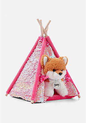 Pet Shop Flip Sequin Tent