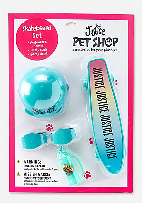 Pet Shop Skateboard Set