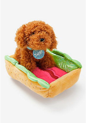 Pet Shop Scented Hot Dog Bed