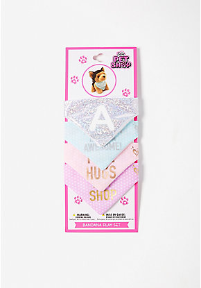 Pet Shop Initial Bandana Play Set