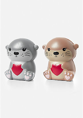 Otter Squish Toy - 2 Pack