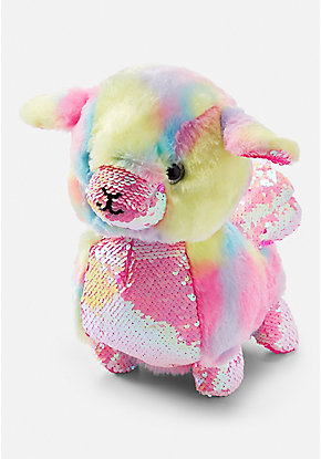 Flip Sequin Sheep Plush