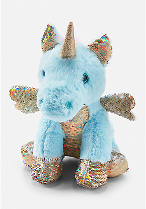 Flip Sequin Unicorn Plush