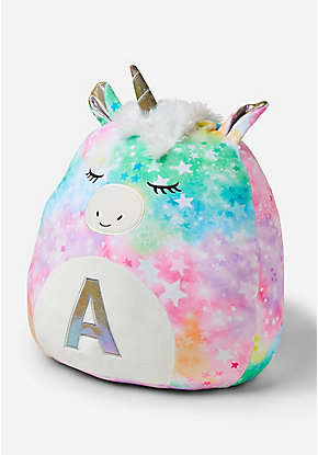 Initial Unicorn Squishmallow