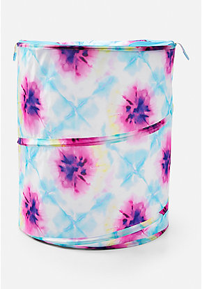 Tie Dye Pop Up Hamper