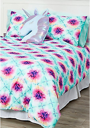Tie Dye 7-Piece Bed in a Bag - Queen Size