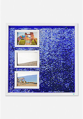 Photo Flip Sequin Memo Board