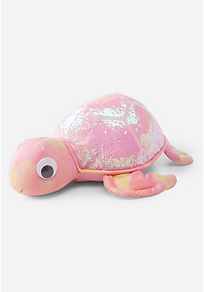 Flip Sequin Turtle Plush