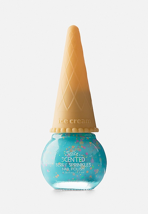 Blue Ice Cream Nail Polish | Justice