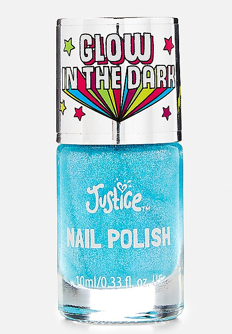 Blue Glow in the Dark Nail Polish | Justice