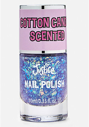 Purple Cotton Candy Scented Nail Polish