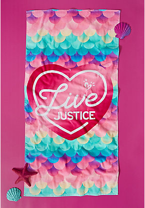 Live Justice Beach Towel