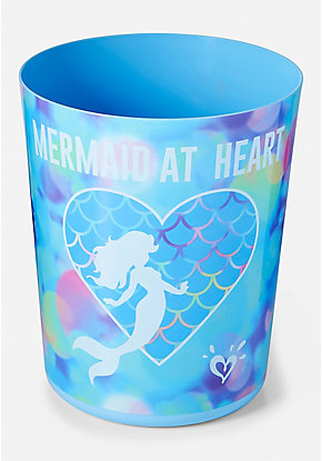 Mermaid Wastebasket