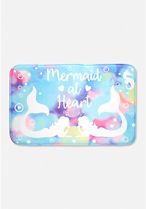 Mermaid at Heart Bath Mat