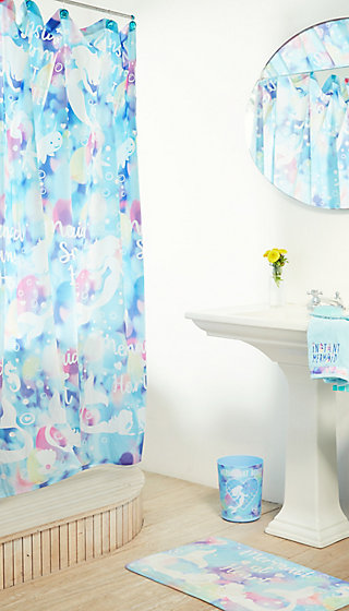 Mermaid Shower Curtain Justice