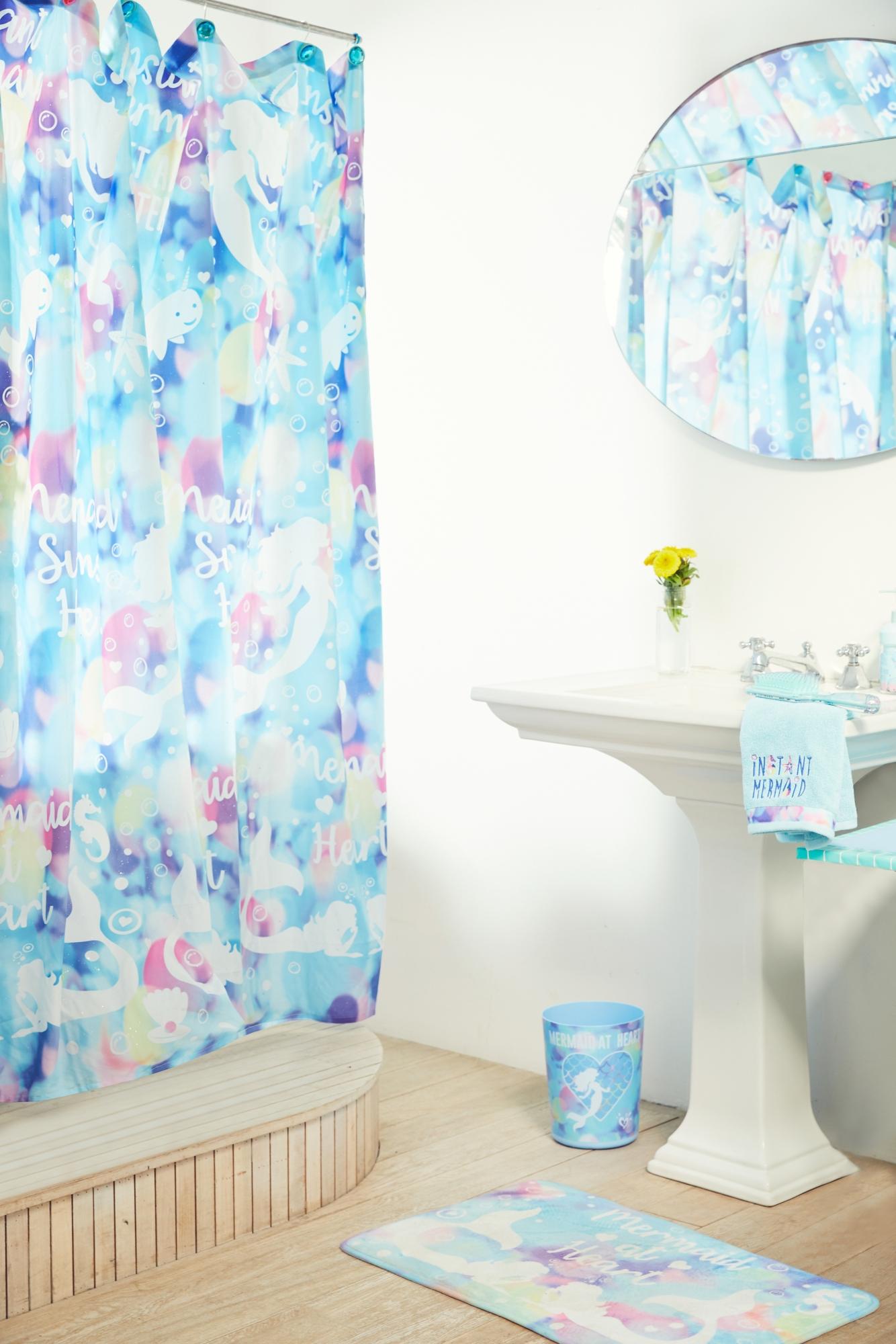 ... Bath; Mermaid Shower Curtain. Previous Next