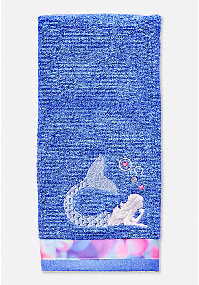Mermaid Thoughts Hand Towel