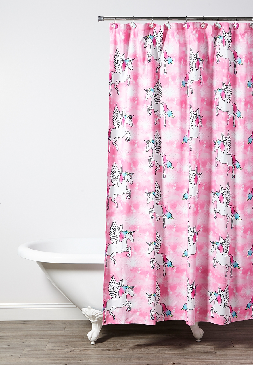 Unicorn Shower Curtain | Justice