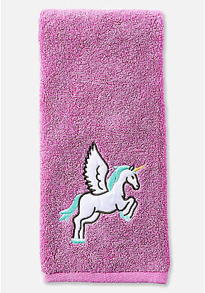 Winged Unicorn Hand Towel