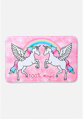 100% Magic Unicorn Bath Mat