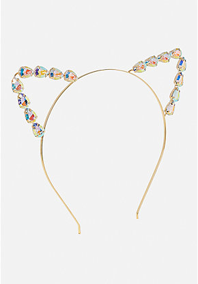 Jewel Cat Ear Headband