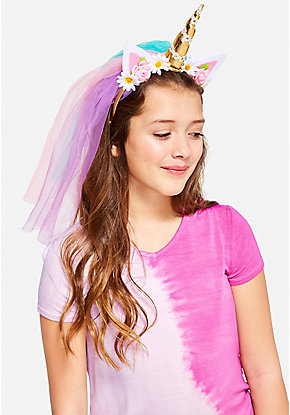 Unicorn Veil Headband