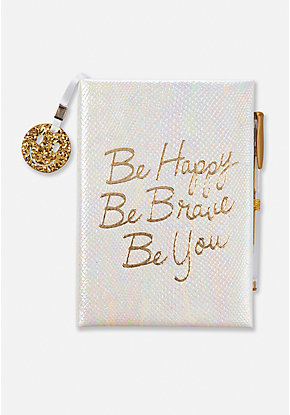 Be Happy Be Brave Be You Journal