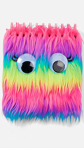 Rainbow Monster Spiral Notebook Justice