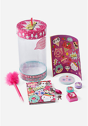 Sweet Critters Safe Secrets Diary Set