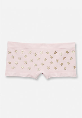 Seamless Glitter Shapes Shortie
