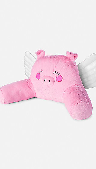 Flying Pig Lounge Pillow