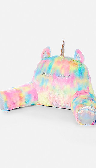 Pastel Unicorn Lounge Pillow Justice