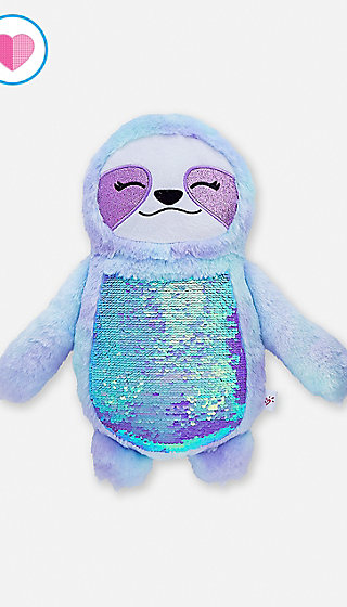 Flip Sequin Sloth Pillow Justice