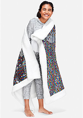 Flip Sequin Blanket