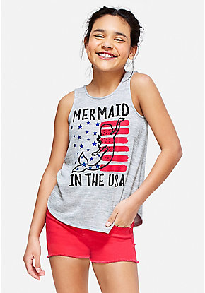 Mermaid in the USA Tank