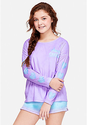 Choose Snooze Pajama Top